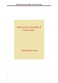 Destruction is the pillar of Construction (eBook)