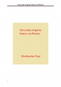 Fairy tales of game theory via Physics (e-book)