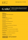 Global Academic Research Journal (July - 2014)