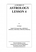 A COURSE IN ASTROLOGY. LESSON 4 (eBook)