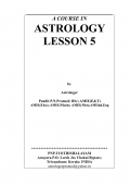 A COURSE IN ASTROLOGY LESSON 5 (eBook)