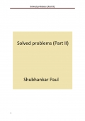 Solved problems (Part II)