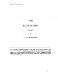 The Love Letter (eBook)