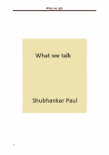 What we talk (e-book)