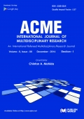 Acme International Journal  (Volume - II, Issue - XII  December - 2014)   Section - I