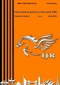 International Journal of Research June 2015 Part-2