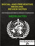Social and Preventive Medicine Review Notes (eBook)