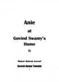 Anie at Govind Swamy's Home