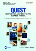 Quest International Research Journal  (Vol - IV, Issue - II)