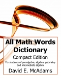 All Math Words Dictionary (Compact PB)