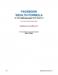 Facebook cash system (eBook)