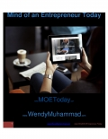 Mind of An Entrepreneur Today (eBook)