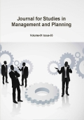Journal for Studies in Management and Planning, April 2015 Part-3