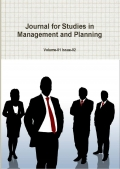Journal for Studies in Management and Planning, March 2015 Part-1