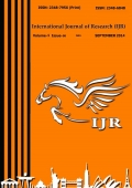 International Journal of Research September 2014 Part-1