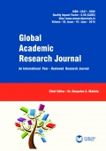 Global Academic Research Journal (June - 2015)