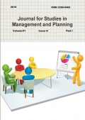 Journal for Studies in Management and Planning, July 2015 Part-1