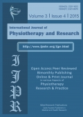 International Journal of Physiotherapy and Research-Volume-3:Issue-4:2015 (Color)