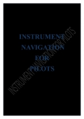 INSTRUMENT NAVIGATION FOR PILOTS