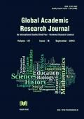 Global Academic Research Journal [September - 2015]
