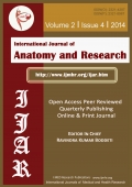 Interational Journal of Anatomy and Reserach Volume 2 Issue 4 2014 (Black and White)