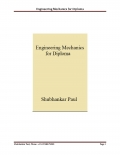 Engineering Mechanics for Diploma