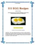 111 EGG Recipes (eBook)