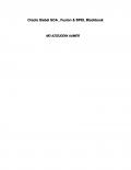 Siebel SOA , Fusion & BPEL Blackbook