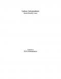 Labour Jurisprudence