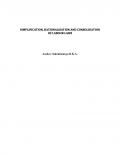 SIMPLIFICATION, RATIONALISATION AND CONSOLIDATION OF LABOUR LAWS (eBook)
