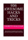 936 AWESOME HACKS AND TRICKS (eBook)