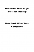 The Secret Skills to get into Tech Industry