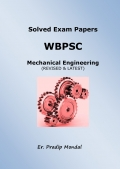 Solved Mechanical Engineering Exam Papers of WBPSC
