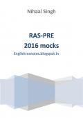 RAS pre-2016 mock tests