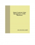 Siebel Customer Order Management ( COM ) Blackbook