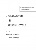 GLYCOLYSIS & KELVIN cycle  (eBook)