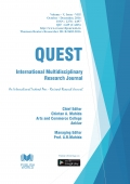 Quest International Research Journal : October - December, 2016  [Final Issue]