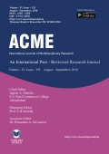 ACME JOURNAL : Vol - IV, Issue - VII [FINAL ISSUE]