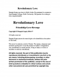 Revolutionary Love