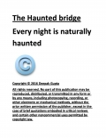 The Haunted Bridge (eBook)