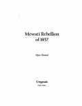 Mewati Rebellion of 1857