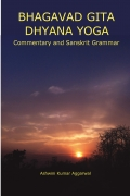 Bhagavad Gita Dhyana Yoga Essence and Grammar
