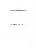 Earning Perception