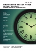 Global Academic Research Journal : January - March, 2017
