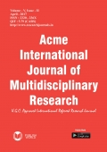 Acme International Journal : April - 2017