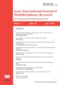 Acme International Journal : June - 2017