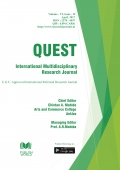 Quest International Multidisciplinary Research Journal : April - 2017