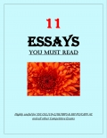 11 ESSAYS Yo Must Read