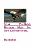 Most Profitable Business Ideas For New Entrepreneurs