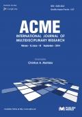 Acme International Journal  (September - 2014)